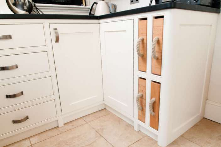 Bespoke Shaker Kitchen, Balcombe West Sussex Design and Made By Mark Heeler