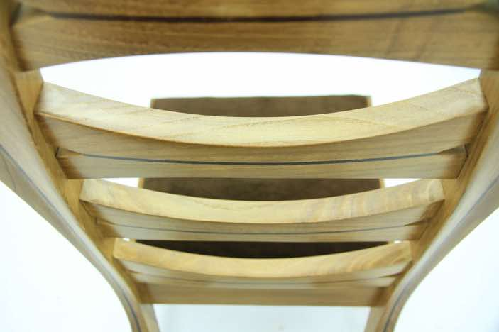 The Tarus chair - Fumed Ash table to match coming soon