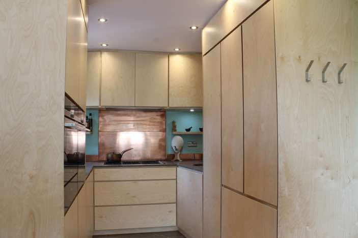 Asymmetric Contemporary Bespoke Kitchen Forest Row<br/>This Kitchen was designed to compliment the asymmetric houses in Forest Row's Michael Hall opposite the Stiener school.<br/>
